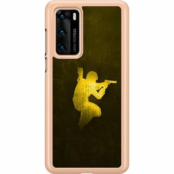 Huawei P40 Hard Case (Clear) CS