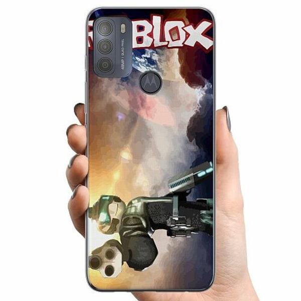 Motorola Moto G50 TPU Mobilskal Roblox