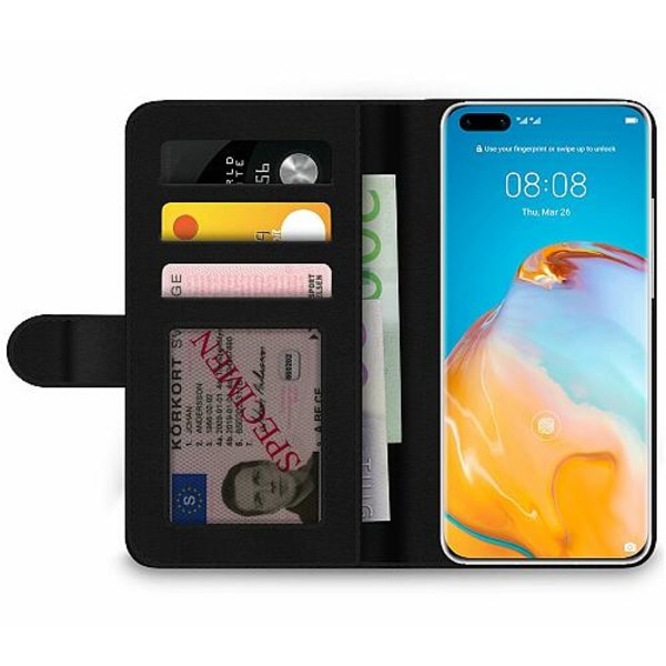 Huawei P40 Pro Wallet Case Queen of Everything