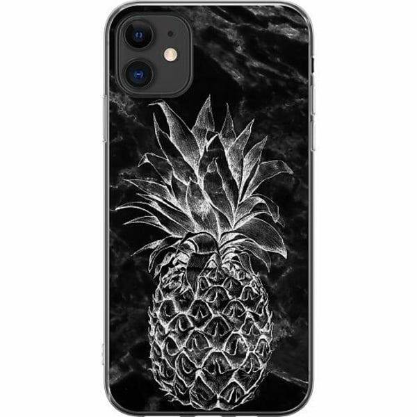Apple iPhone 11 TPU Mobilskal Marmor Ananas