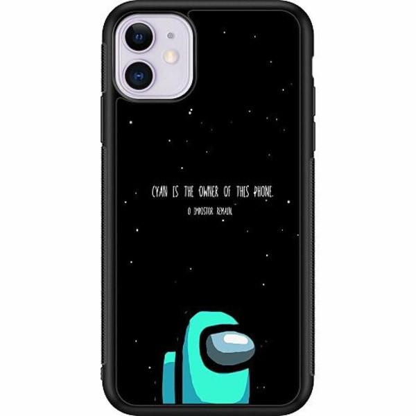 Apple iPhone 11 Soft Case (Svart) Among Us 2021