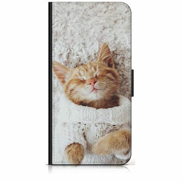 Xiaomi Redmi 9 Plånboksfodral Katt