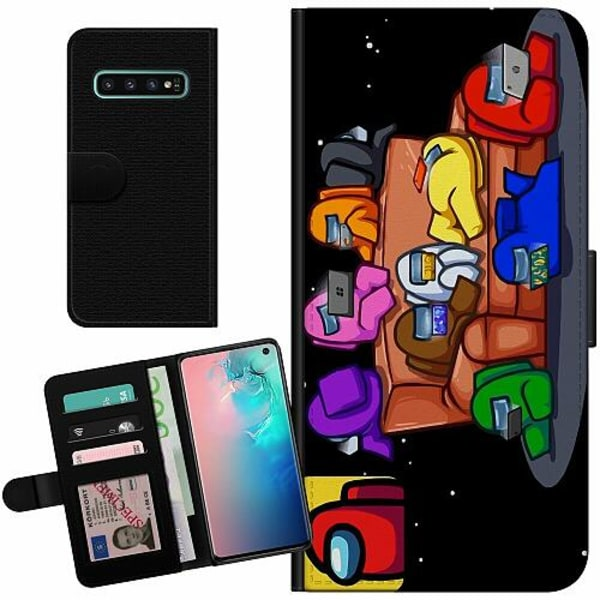 Samsung Galaxy S10 Billigt Fodral Among Us