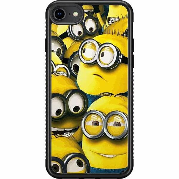 Apple iPhone 7 Soft Case (Svart) Minions