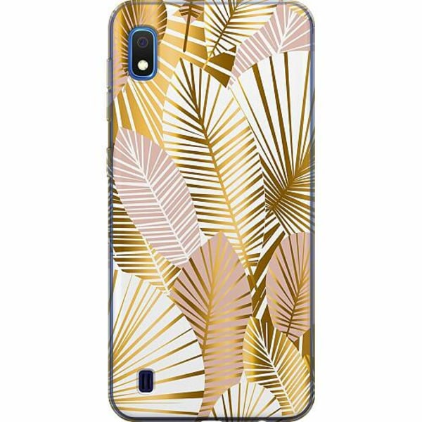 Samsung Galaxy A10 TPU Mobilskal Gold