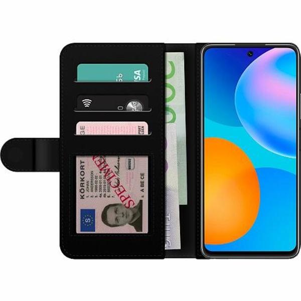 Huawei P Smart (2021) Billigt Fodral Moonlight Meadow