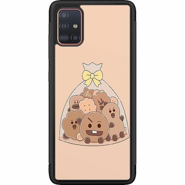 Samsung Galaxy A51 Soft Case (Svart) Kawaii