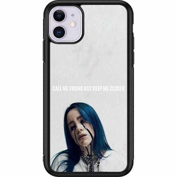 Apple iPhone 11 Soft Case (Svart) Billie Eilish