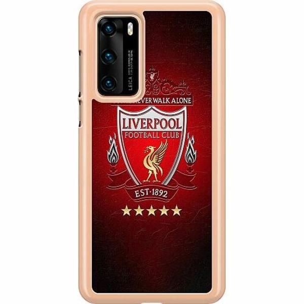 Huawei P40 Hard Case (Clear) YNWA Liverpool