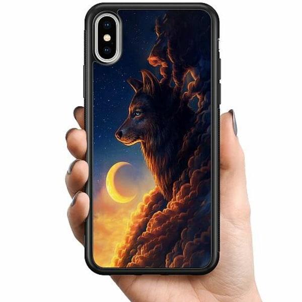 Apple iPhone XS Max Billigt mobilskal - Varg