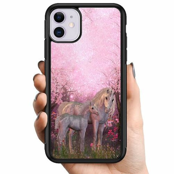 Apple iPhone 11 Billigt mobilskal - Magic Unicorns