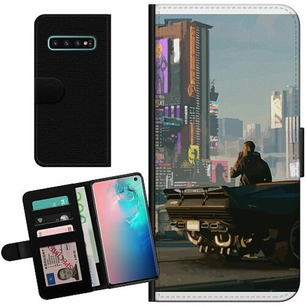 Samsung Galaxy S10 Billigt Fodral Cyberpunk 2077