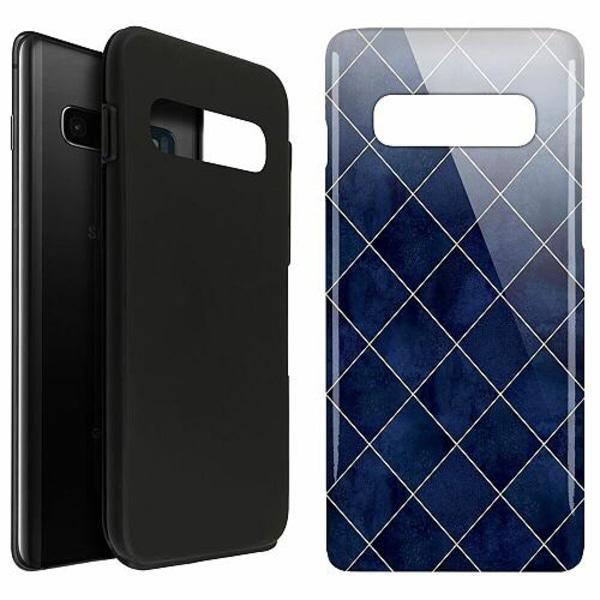 Samsung Galaxy S10 Plus LUX Duo Case (Glansig)  Yale