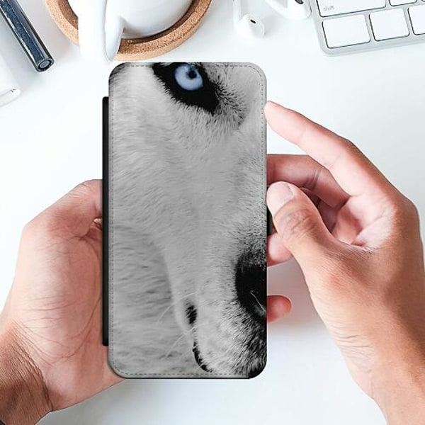 Apple iPhone 8 Slimmat Fodral Wolf / Varg