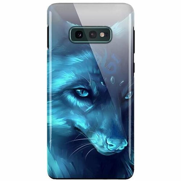Samsung Galaxy S10e LUX Duo Case (Glansig)  Wolf / Varg