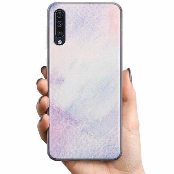 Samsung Galaxy A50 TPU Mobilskal Frosted Frost