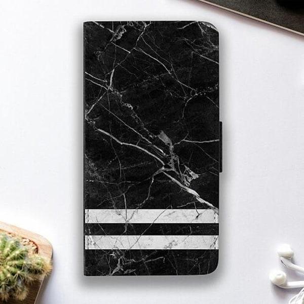 Samsung Galaxy A12 Fodralskal Marmor