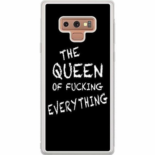 Samsung Galaxy Note 9 Soft Case (Frostad) Queen