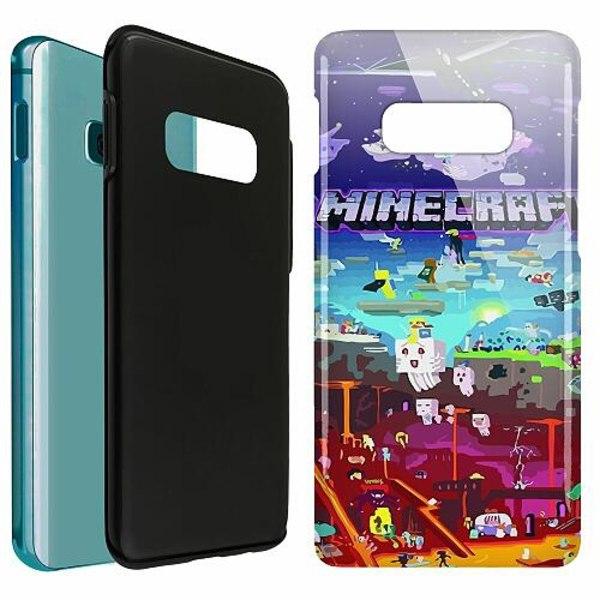 Samsung Galaxy S10e LUX Duo Case (Glansig)  MineCraft