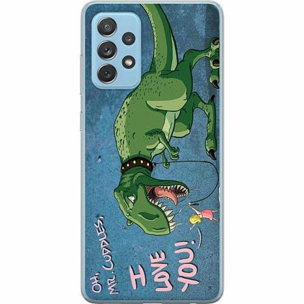 Samsung Galaxy A72 5G Mjukt skal - Dinosaurier