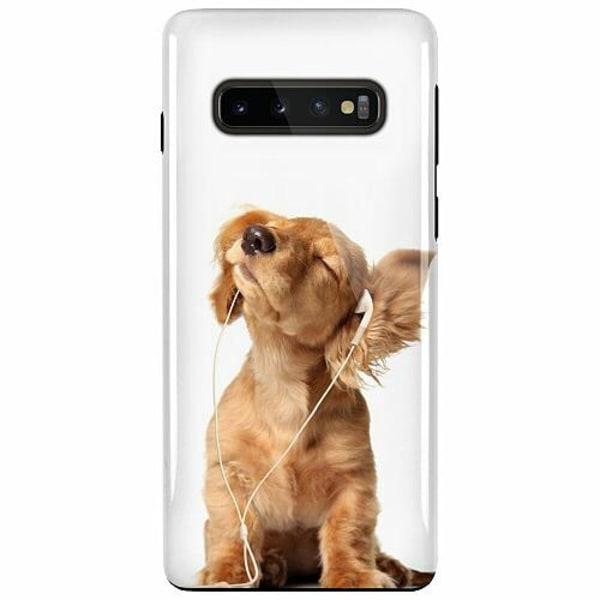 Samsung Galaxy S10 Plus LUX Duo Case (Glansig)  Hund