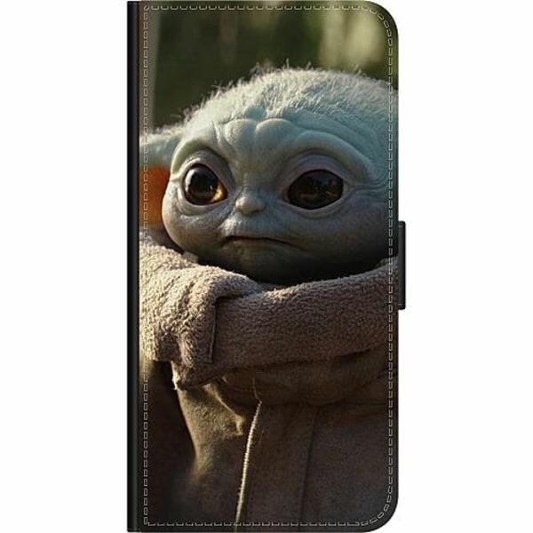 Samsung Galaxy A12 Wallet Case Baby Yoda