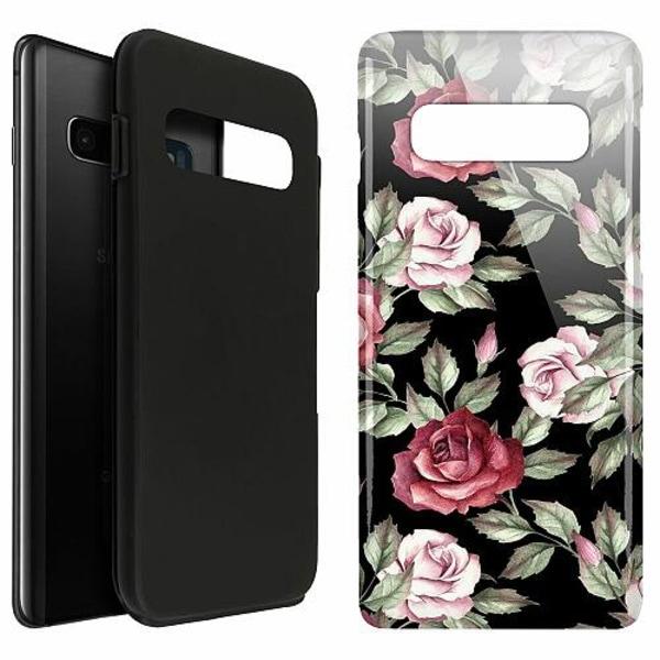 Samsung Galaxy S10 Plus LUX Duo Case (Glansig)  Floral Dream