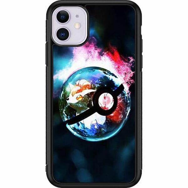 Apple iPhone 11 Soft Case (Svart) Pokémon GO
