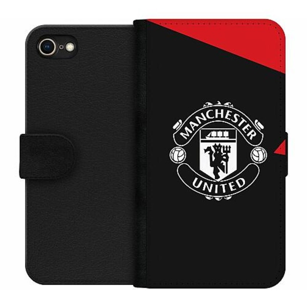 Apple iPhone 8 Wallet Case Manchester United FC