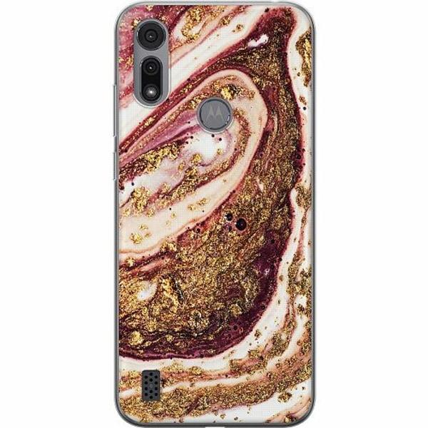 Motorola Moto E6i Thin Case Golden Honey