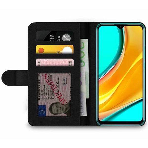 Xiaomi Redmi 9 Wallet Case Pretty Leo