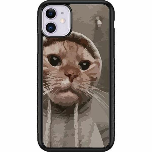 Apple iPhone 11 Soft Case (Svart) Cat Called