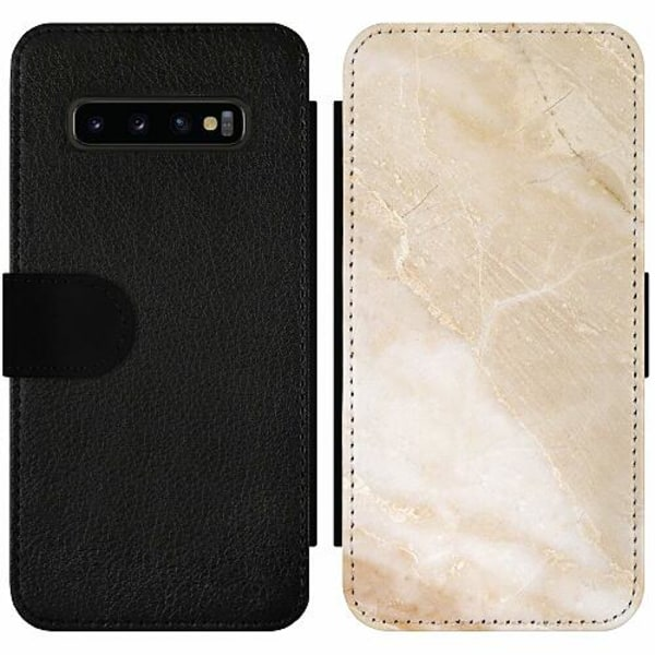 Samsung Galaxy S10 Plus Wallet Slim Case More Marble