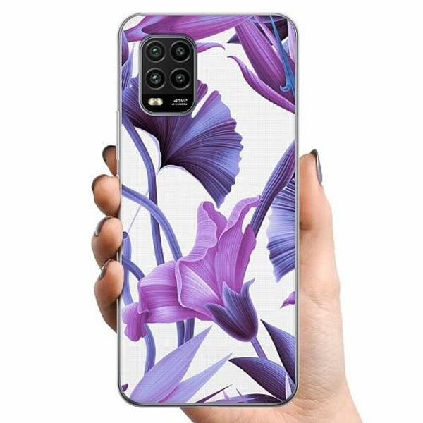 Xiaomi Mi 10 Lite TPU Mobilskal Lilac Bloom