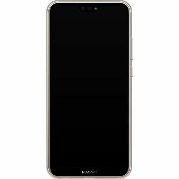 Huawei P20 Lite Thin Case Glitter Marble