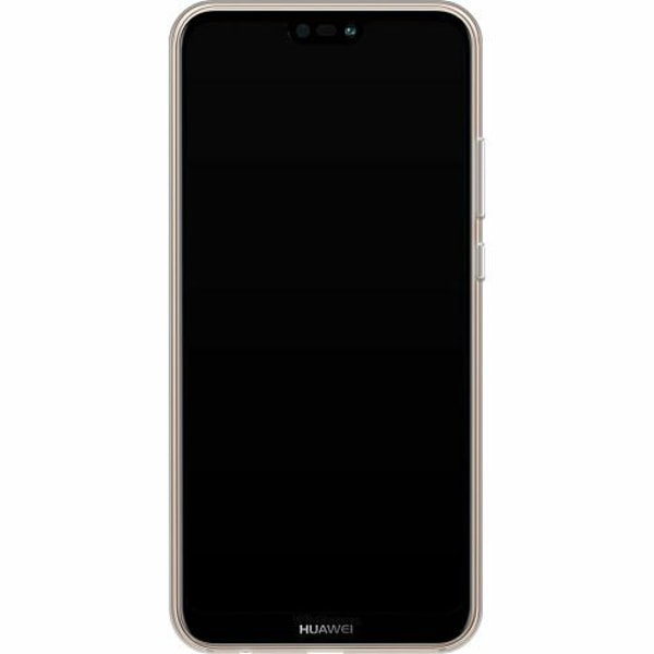 Huawei P20 Lite Thin Case Llama Marble