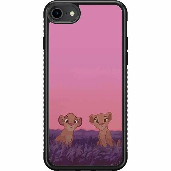 Apple iPhone 7 Soft Case (Svart) Pink