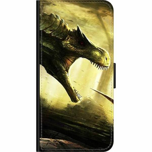 OnePlus 7 Pro Wallet Case Dinosaurier