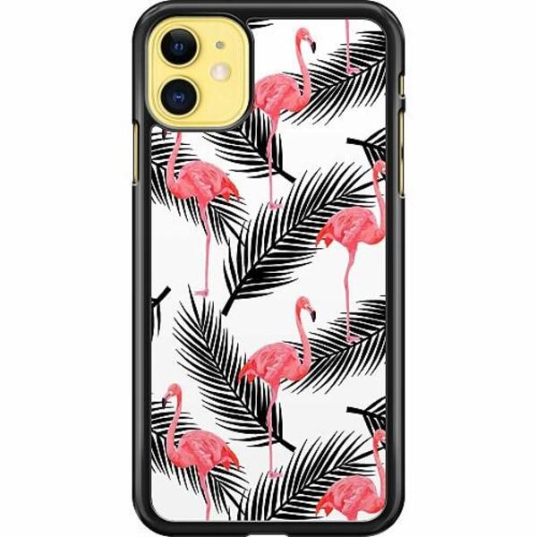 Apple iPhone 11 Hard Case (Svart) Flamingo