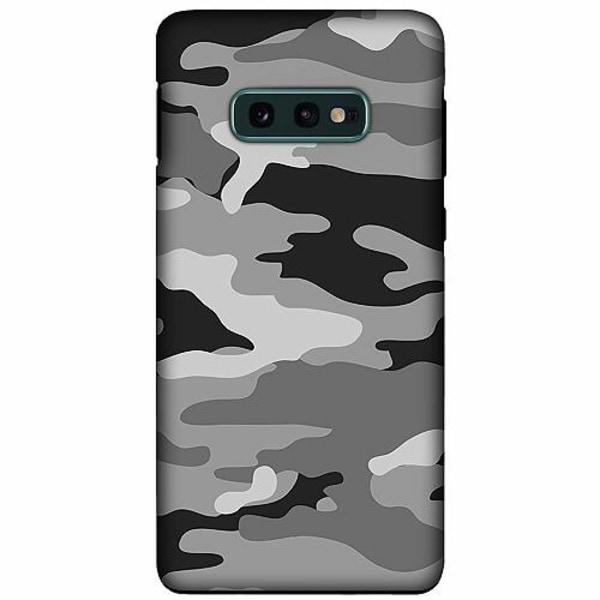Samsung Galaxy S10e LUX Duo Case (Matt) Military B/W