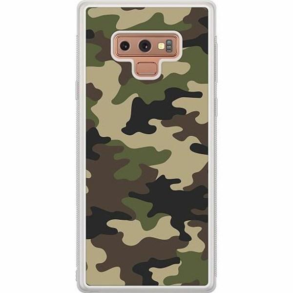 Samsung Galaxy Note 9 Soft Case (Frostad) Woodland Camo