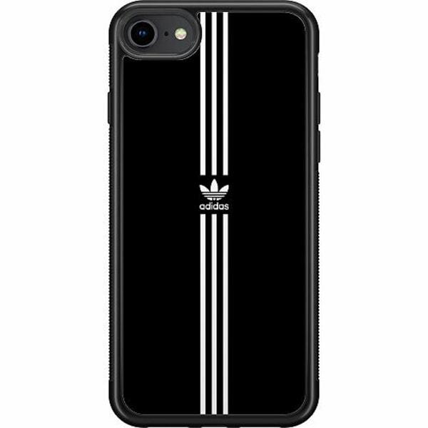 Apple iPhone 7 Soft Case (Svart) Fashion