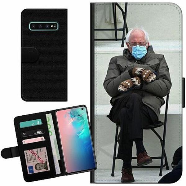 Samsung Galaxy S10 Billigt Fodral Bernie Sanders Meme