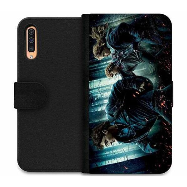 Samsung Galaxy A50 Wallet Case Harry Potter