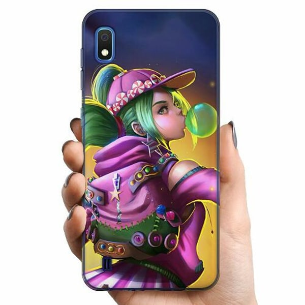 Samsung Galaxy A10 TPU Mobilskal Fortnite Zoey