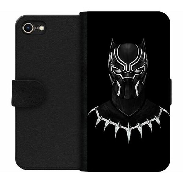 Apple iPhone 8 Wallet Case Black Panther