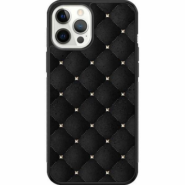 Apple iPhone 12 Pro Max Soft Case (Svart) Luxe