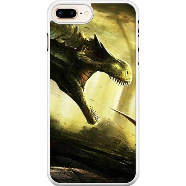 Apple iPhone 7 Plus Hard Case (Vit) Dinosaurier