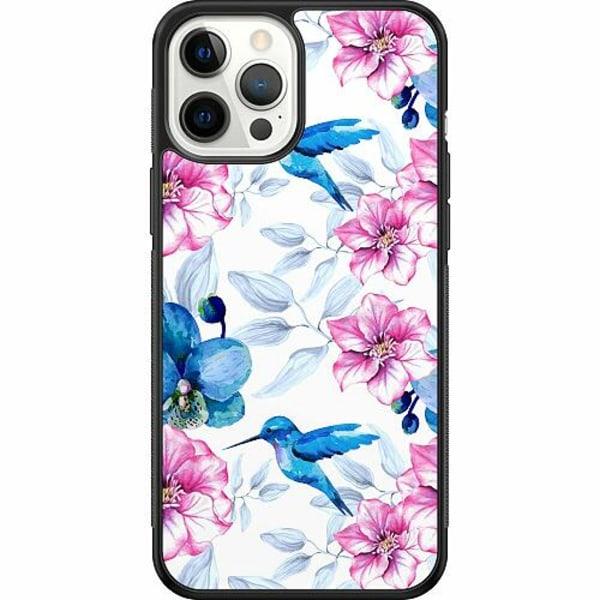 Apple iPhone 12 Pro Max Soft Case (Svart) Hummingbird