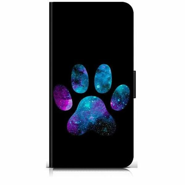 Xiaomi Redmi 9 Plånboksfodral Galaxy Paw